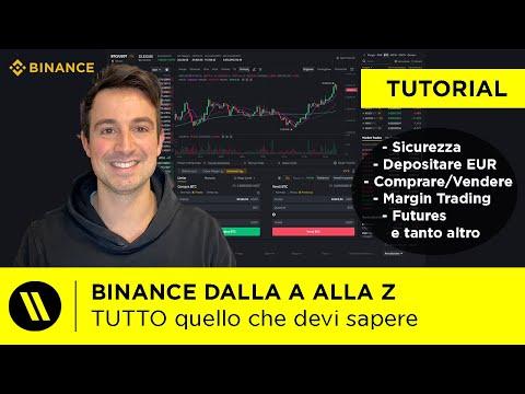 BINANCE: TUTORIAL DEFINITIVO   Comprare e Vendere Crypto, Margin Trading, Futures (Aggiornato 2021)