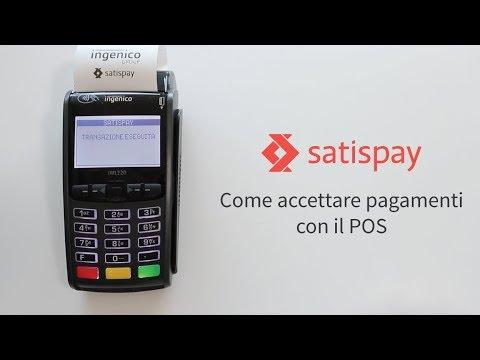 Satispay - Come accettare pagamenti con il POS