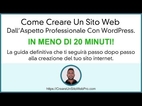 Come Creare Un Sito Web WordPress con Siteground Hosting, La Guida Definitiva.