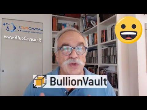 BullionVault: come comprare oro-argento-platino fisico