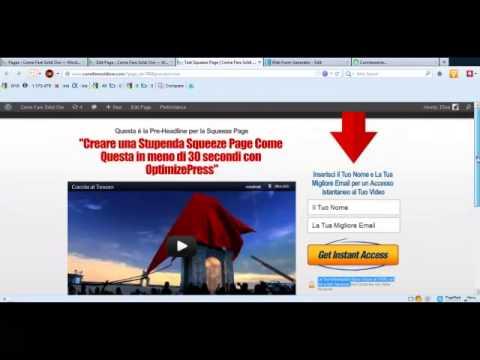 Optimizepress Italiano - 13 Video Tutorial GRATIS in Italiano