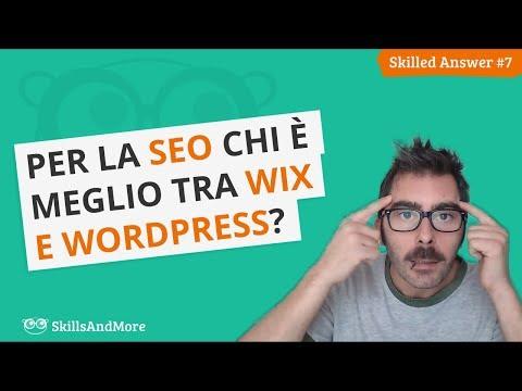WordPress o Wix: Chi è meglio per la SEO?