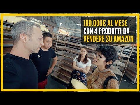 100.000€ AL MESE CON 4 PRODOTTI DA VENDERE SU AMAZON - QUALI SONO E COME VENGONO PRODOTTI