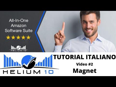 🔎 HELIUM 10 TUTORIAL ITALIANO TOOLS PER VENDITORI AMAZON: VIDEO 2# MAGNET