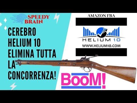 ELIMINA LA CONCORRENZA CON CEREBRO DI HELIUM 10! FARE SOLDI DA CASA COME GUADAGNARE AMAZON FBA ITA