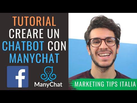 Creare un chatbot per Facebook con Manychat