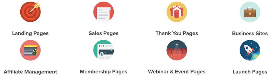 optimizepress landing page sales page launch funnel