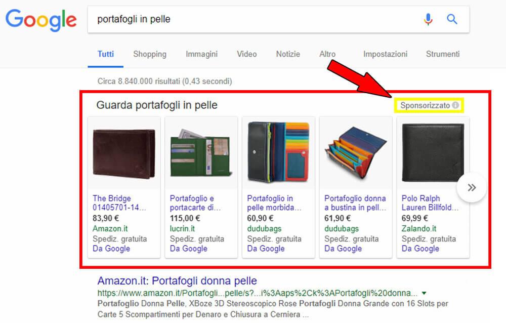 traffico a pagamento motori di ricerca google