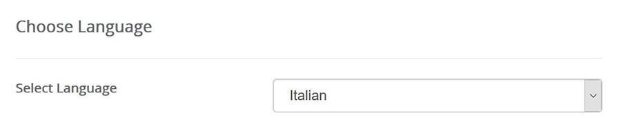 wordpress italiano