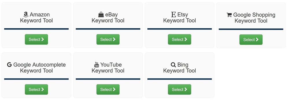 keyword tool dominator ktd suite strumenti