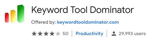 keyword tool dominator recensione opinioni