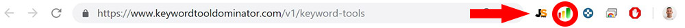 KeywordDominatorTool Estenzione Chrome Download