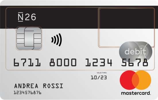 carta preapagata standard, carta debito prepagata Mastercard