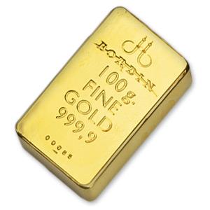 comprare lingotto oro vero 100gr