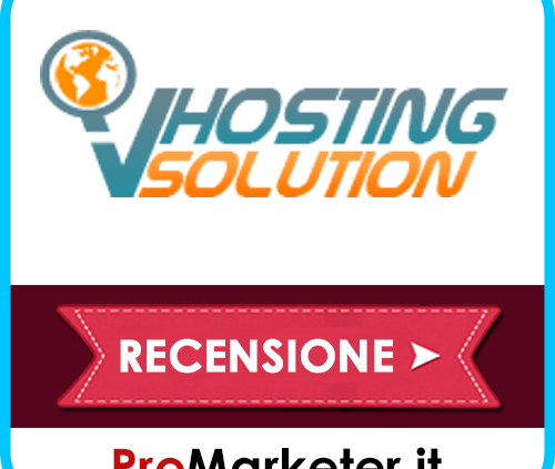 vhosting solution recensione opinioni