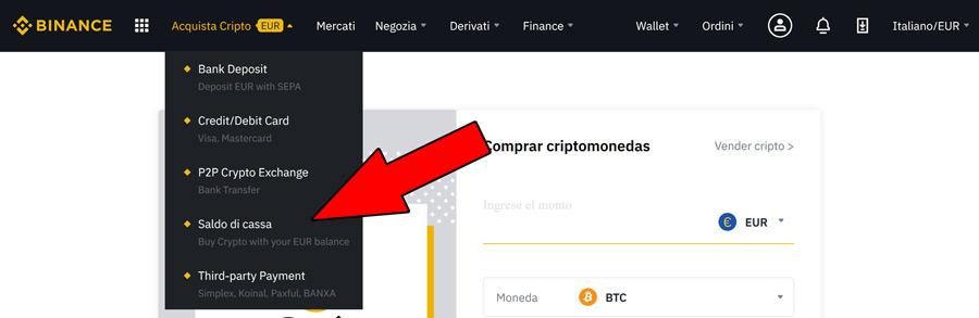 comprare bitcoin da moneta fiat euro