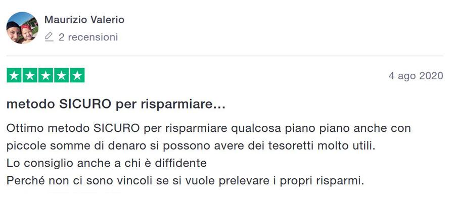 opinioni risparmio app italia