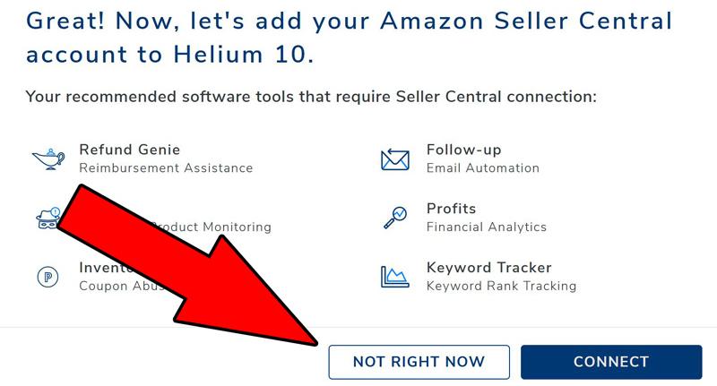 amazon seller central connessione
