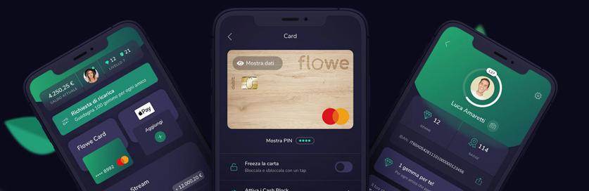 Carta conto Flowe: caratteristiche, funzionalità e costi