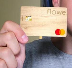 carta legno flowe