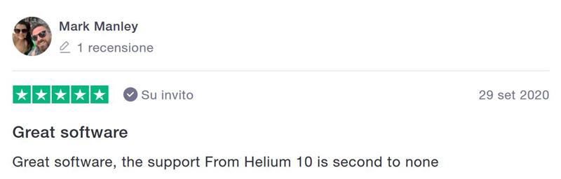 opinione helium 10