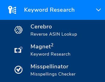 ricerca keyword parole chiave helium 10 italia